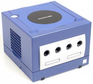 gamecube blau