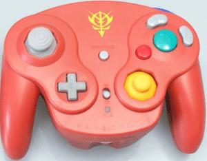 Gamecube Wavebird Controller Chars Gundam Copper