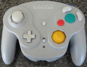 Gamecube Wavebird Controller Grey