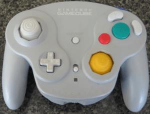 Gamecube Wavebird Controller Grey
