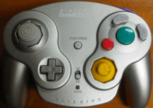 Gamecube Wavebird Controller Platinum