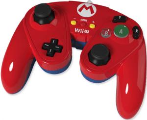 Wii U Mario Gamecube Controller