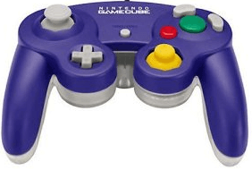 gamecube controller Clear Purple