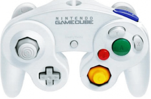 gamecube controller Crystal White