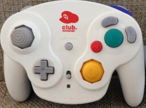 gamecube controller club controller mario mütze