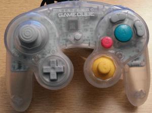 gamecube controller durchsichtig