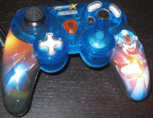 gamecube controller mega man