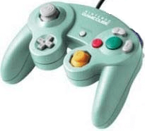 gamecube controller mint green