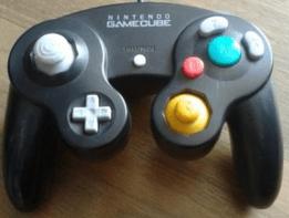 gamecube controller schwarz