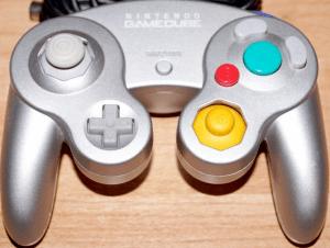 gamecube controller silber