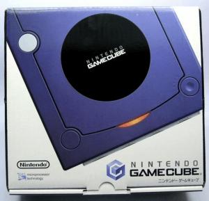 Gamecube mit Originalverpackung blau
